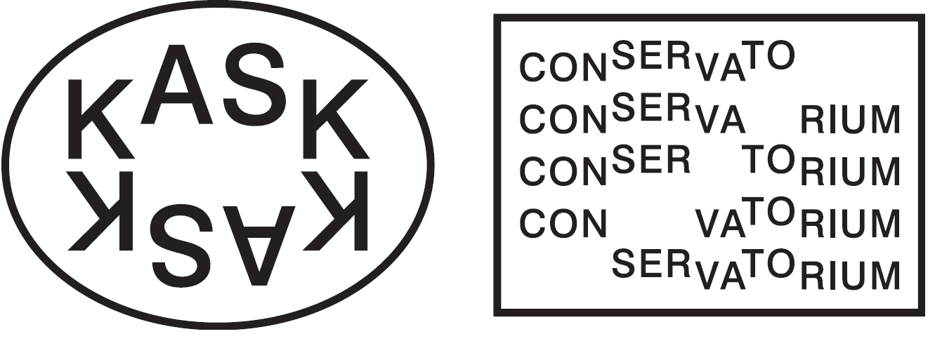 Logo KASK conservatorium Gent
